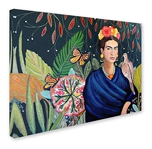 cuadro frida kahlo de la marca NG Novedades.Gonzaga