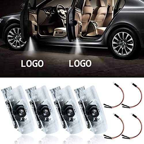 Eogifee LED Car Door Light Courtesy Projector Laser Welcome Lights Ghost Shadow Light Lamps Accessories for The Replacement of Lexus RX/ES/GX/LS/LX/IS Series(4 Pack)