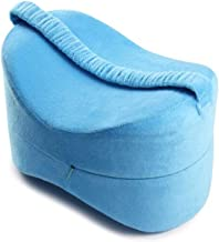 ZWYTZ Knee Leg Pillow,Orthopedic Knee Pillow with Memory Foam Multifunction Health Leg Pillow,for Back, Hip, Legs and Knee Support Wedge and Sciatica Nerve Pressure Relief Blue
