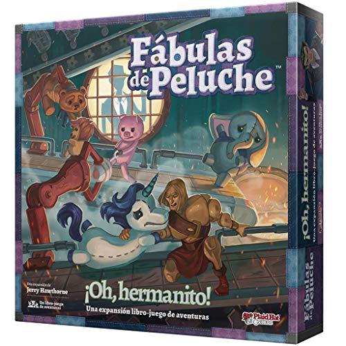 PlaidHat Games Fábulas de Peluche Oh, hermanito, Juego de Mesa en Español (Asmodee PH2201ES)