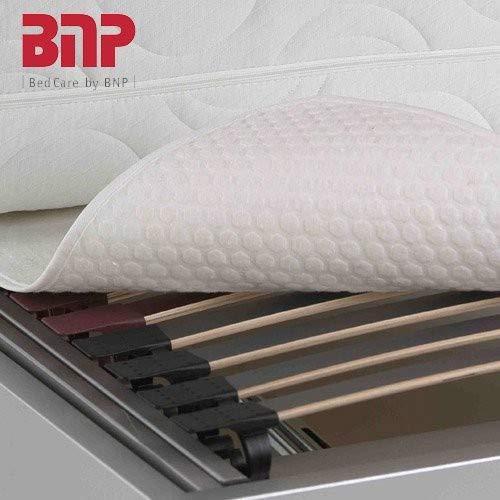 BNP Opti-Star Schonmatte für Lattenrost mit Relief-Oberfläche 160 x 200 cm weiß