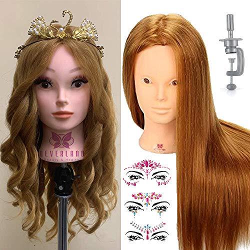 NEVERLAND BEAUTY 50% REAL HAIR TRAINING HEAD