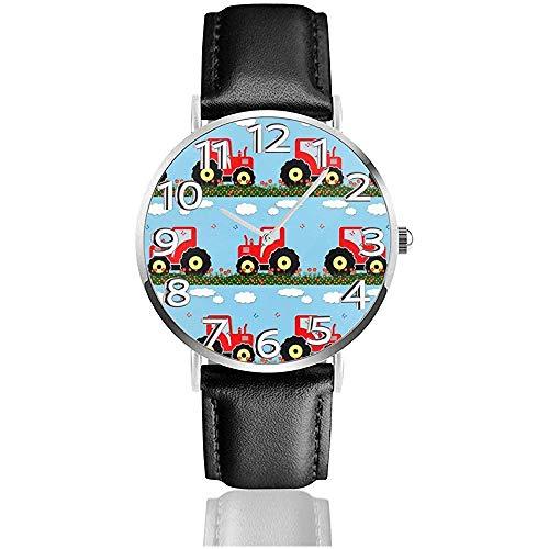 Reloj de Pulsera Patrón de Tractor de Juguete Reloj de Cuarzo Casual...