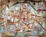 Kunstdruck/Poster: Paul Klee Requisiten Stilleben -