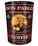 2LB Don Pablo Signature Blend - Drip Ground Coffee - Medium-Dark Roast- Collectible Tin Can - Low...