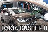 TAOS Deflectores de Viento Delanteros y Traseros para Duster II Desde 2018- (1190569601)