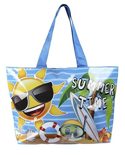 Emoji 2100001722 Bolsa de tela y de playa