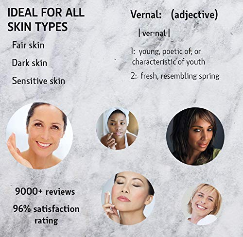 51jvwzsaClL - Vernal's 100% Pure Hyaluronic Acid Serum – Rich With Vitamins C, A, D, E and Age-Defying Antioxidants - Best Anti Wrinkle, Anti Aging Face Serum that Lifts and Firms Skin, Made in USA