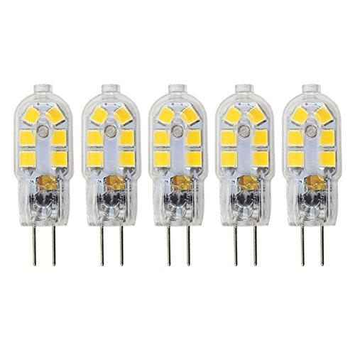 Mechok Bombilla LED G4, base bipin tipo JC, bombillas halógenas equivalentes a...
