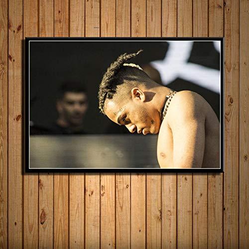 YWOHP Arte de la Pared impresión de la Lona Imagen decoración del hogar Hip Hop música Estrella Pintura Modular Cartel nórdico Sala de Estar 40x50cm_No_Framed_14