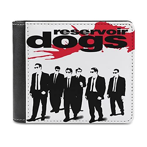 Reservoir Dogs レザボア・ドッグス メンズ 財布 PUレザー 二つ折り財布 レディース ウォレット お札 カード 名刺入れ 薄型 コンパクト 軽量 ファッション 人気 レトロ風 プレゼント
