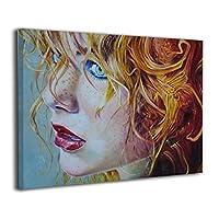 Skydoor J パネル ポスターフレーム 女 顔 インテリア アートフレーム 額 モダン 壁掛けポスタ アート 壁アート 壁掛け絵画 装飾画 かべ飾り 30×40