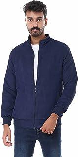 Andora Ribbed Trim Side Pocket Zip-Up Jacket for Men