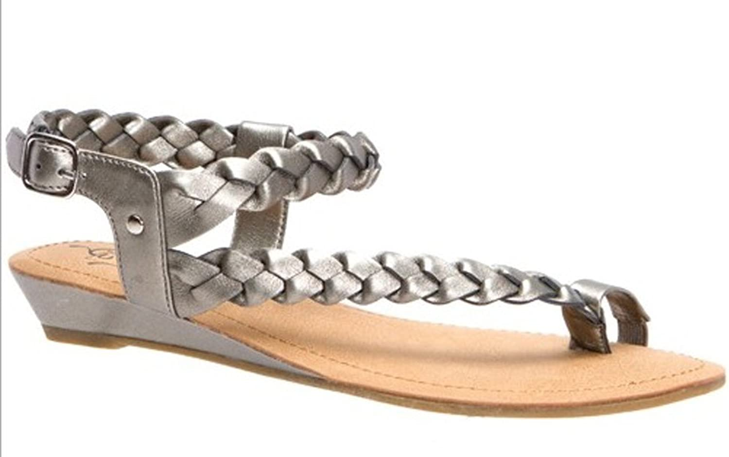 Kenneth Cole Unlisted coloring Book Womens Sandals Pewter 7.5