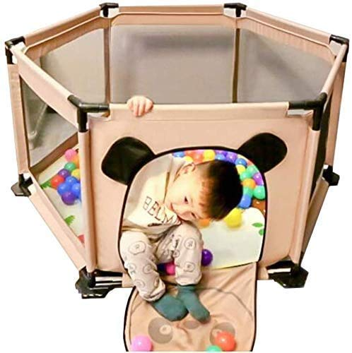 Baby Fence Indoor Baby's Gift Fence Toys with Door House Play Area Baby Game Playpen Play Center Fence Kids Activity Center Anti-Fall Playpens