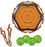 Diggin Slimeball Flinger Darts. Toy Sling-Shot for Kids. Bullseye Target Set & Ball Launcher