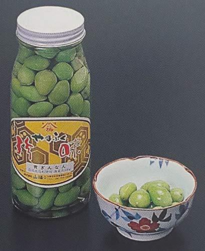 花一 青銀杏水煮 ( 瓶 ) 300g(固形量180g) 約85粒 業務用 青 ぎんなん水煮