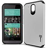 HTC Desire 520 Case, CoverON [Slim Guard Series] Slim Dual Layer Armor Hard Cover Thin TPU Phone...