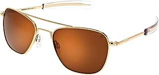 Randolph Classic Aviator Sunglasses for Men or Women Polarized 100% UV