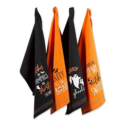 Image of HALLOWEEN DISH TOWELS