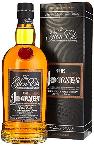 The Glen Els, The Journey Edition, Single Malt Whisky, mit Geschenkverpackung 2019 Whisky (1 x 0.7 l)