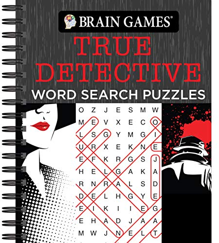 Compare Textbook Prices for Brain Games - True Detective Word Search Puzzles  ISBN 9781640306721 by Publications International Ltd.,Brain Games