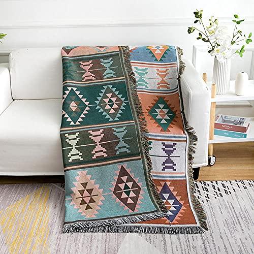 haoyunlai Manta de bebé de la cama de la alfombra del paño de la mesa, toalla del sofá de la belleza de la manta de la siesta, cubierta de la cama de la toalla del sofá-01_160cm* 220cm