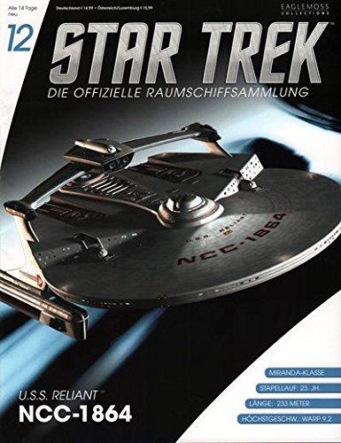 Star Trek - Die offizielle Raumschiffsammlung #12 - USS Reliant NCC- 1864 (Raumschiff & Magazin)