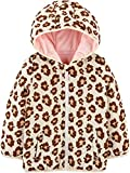 Simple Joys by Carter's Girls' Toddler Puffer Jacket, Leopard Print, 4T
