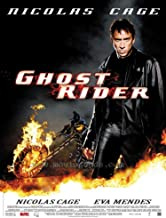 Ghost Rider Movie Poster (27 x 40 Inches - 69cm x 102cm) (2007) French -(Nicolas Cage)(Eva Mendes)(Raquel Alessi)(Angry Anderson)(Arthur Angel)