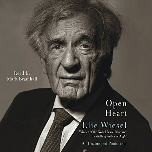 Open Heart                   Written by:                                                                                                                                 Elie Wiesel,                                                                                        Marion Wiesel (translator)                               Narrated by:                                                                                                                                 Mark Bramhall                      Length: 1 hr and 25 mins     Not rated yet     Overall 0.0