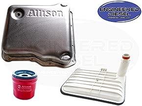 Genuine Allison 1000 Deep Pan Kit - Allison Deep Pan (29536522), Internal Deep Filter (29542824), AND External Spin On Filter (29539579)