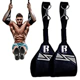 RIMSports Hanging Ab Straps for Pull up Bar- Ideal Pull up Assist Straps