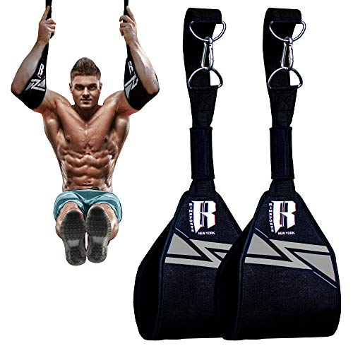 Ab straps - Hanging Ab Strap - Workout Strap ab bar - Ab Arm Straps - Workout Equipment Pull Up - Hanging Arm Straps for Abs - Hanging Leg Raise Strap - Abdominal Training Equipment - Abdominal Sling