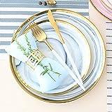 YGB 12 Piece Cutlery Set Bowl Ceramic Gray Marble Phnom Penh Ceramic Dinner Plate Microwaved Upscale Housewarming Wedding Tableware Gift Sea Food Tool Sets