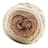 rongweiwang 5 filamentos Hilados de algodón Hecho a Mano DIY Bufanda Bufanda...