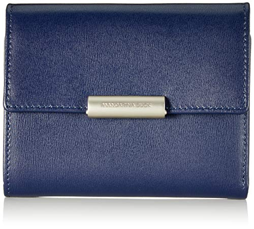 Mandarina Duck Damen Hera 3.0 Geldbörsen, Blau (Dress Blue), 10x21x28.5 cm