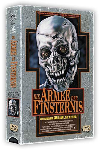 Die Armee der Finsternis - 3-Disc VHS-Box - Cover B - Limited Edition auf 500 Stück - Uncut (Wendeposter) [Blu-ray]