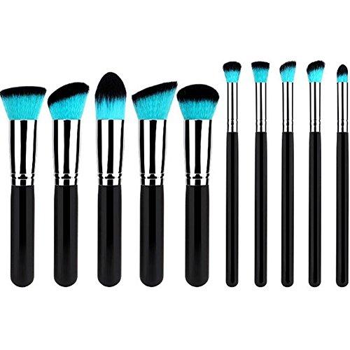 Da.Wa 10 Stück Make-up Pinsel Set Schönheit Werkzeuge Kosmetika Stiftung Bürste