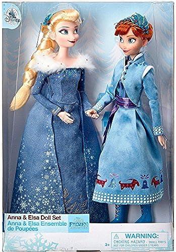 Disney Anna und Elsa klassische Puppe Set - Olaf gefrorenen Abenteuer - 11 1 2 Zoll