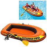 INTEX AK Sport Explorer Pro 300 Bateau Gonflable Rouge/Jaune