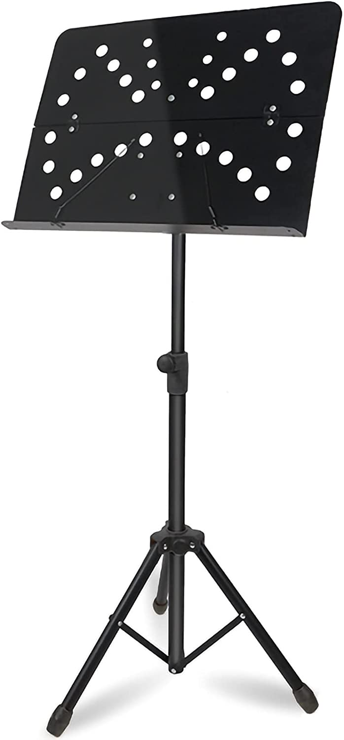 Music Stand Height Adjustable Stable Under blast sales Folding depot and Musi Durable