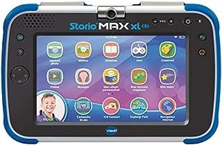 VTech – Tablette Storio Max XL 2. bleue – Tablette enfant 7 pouces, 1% éducative - Version FR