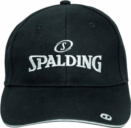 Spalding Casquette Homme Noir/Silver Taille unique