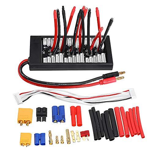 Lishaodonglishaodon Soporte de la Placa de Cargador analógico de la batería de EUHOBBY DIY 2-6S Soporte de la Placa de Cargador analógica de la batería de Lipo para IMAX B6 ISD Q6 Nano HOTA H6 Pro D6