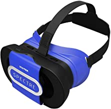 VIOTEK Spectre Folding Virtual Reality VR Headset Phone Accessory - Lightweight Glasses with Collapsible Case for Samsung Apple iPhone LG HTC Motorola Nokia Google Pixel and More! (Renewed)