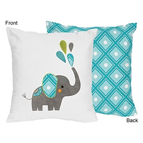 Baby Crib Or Toddler Fitted Sheet For Jojo Elephant Bedding Set Diamond Print