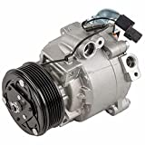 AC Compressor & A/C Clutch For Mitsubishi Lancer Outlander & Outlander Sport Replaces QS90 w/ 6-Groove 95mm Pulley - BuyAutoParts 60-03149NA New