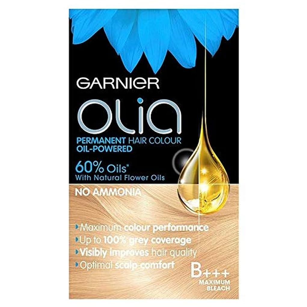 以内に慈悲ほのめかす[Garnier ] ガルニエのOliaのB +++最大ブリーチブロンド - Garnier Olia B+++ Maximum Bleach Blonde [並行輸入品]