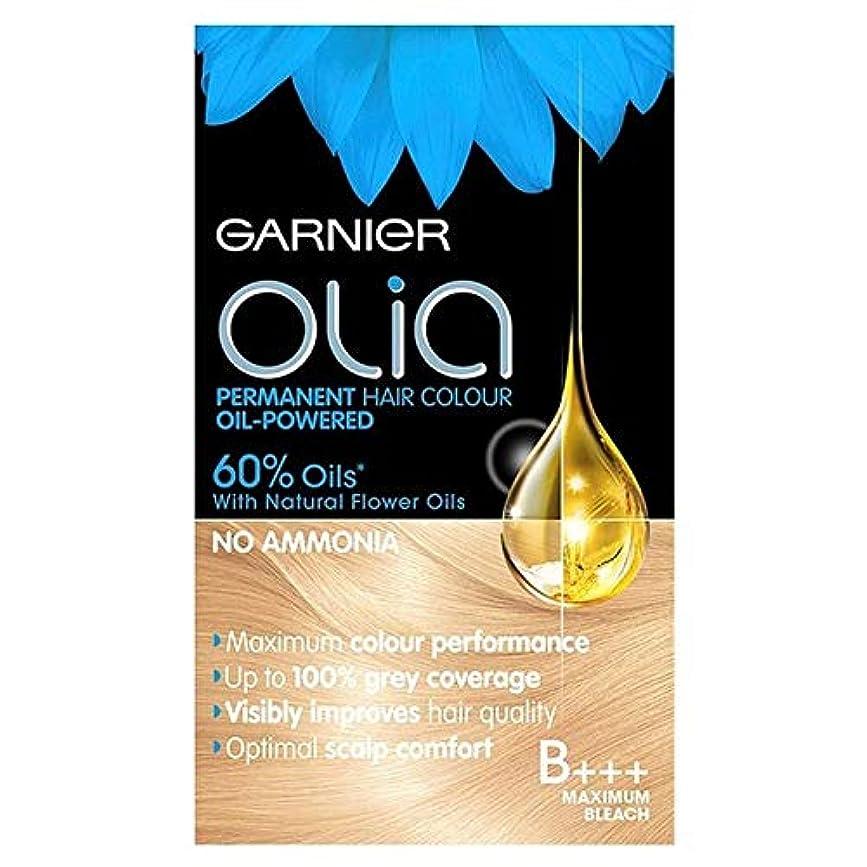 セットアップ収入難しい[Garnier ] ガルニエのOliaのB +++最大ブリーチブロンド - Garnier Olia B+++ Maximum Bleach Blonde [並行輸入品]